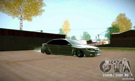 Lada Grant para GTA San Andreas vista direita