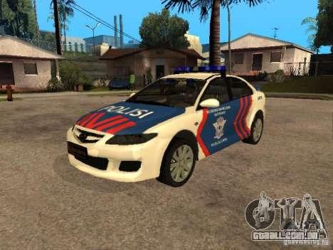 Mazda 6 Police Indonesia para GTA San Andreas