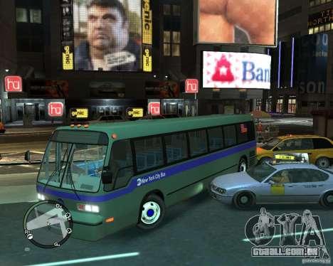 MTA NYC bus para GTA 4 vista direita