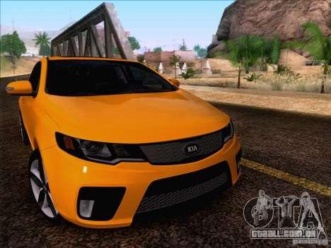 Kia Forte Koup SX para GTA San Andreas