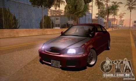 Honda Civic Tuning 2012 para GTA San Andreas