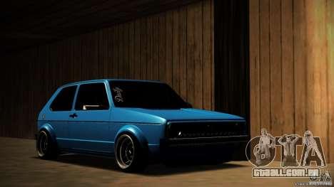 Volkswagen Golf Mk1 Euro para GTA San Andreas