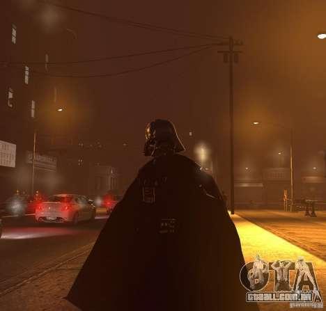 Dart Vader para GTA 4 quinto tela