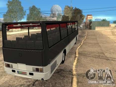 Ikarus Z50 para GTA San Andreas vista interior