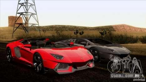 Lamborghini Aventador LP-700 J para GTA San Andreas interior