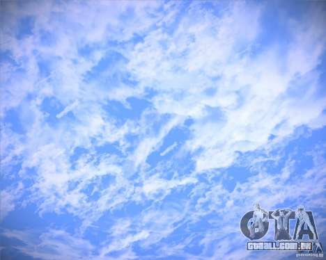 Real Clouds HD para GTA San Andreas
