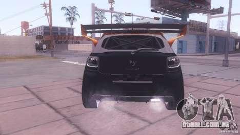 Citroen DS3 Tuning para GTA San Andreas vista interior