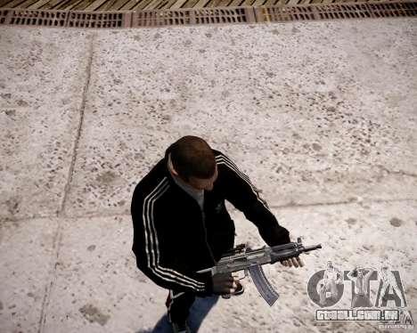 AKS-74U para GTA 4 sexto tela