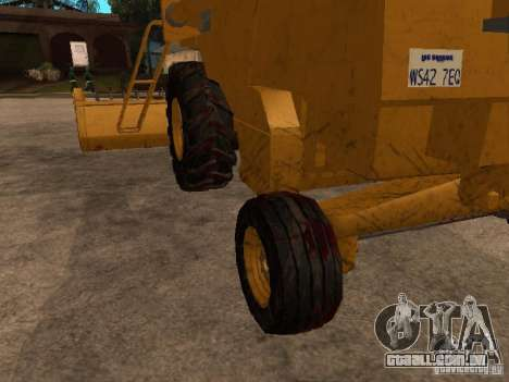 Holland TX 34 C para GTA San Andreas vista interior