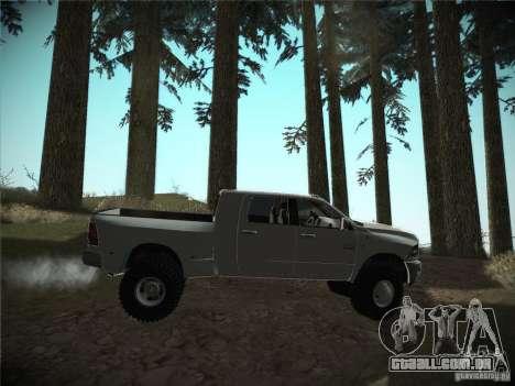 Dodge Ram 3500 4X4 para GTA San Andreas vista direita
