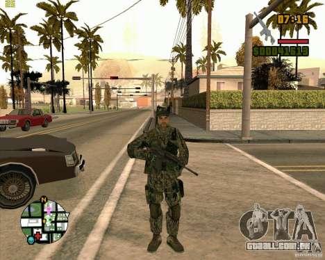 Novos soldados para GTA San Andreas segunda tela
