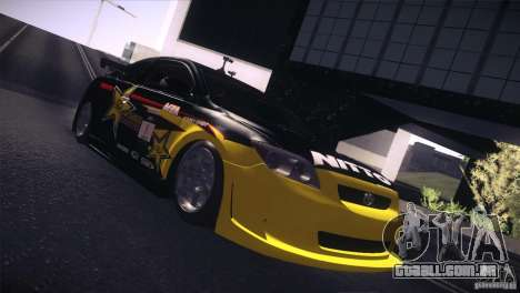 Scion TC Rockstar Team Drift para GTA San Andreas traseira esquerda vista