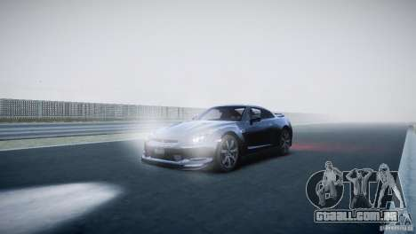 Nissan GT-R R35 V1.2 2010 para GTA 4 esquerda vista