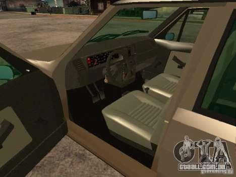 Fiat Ritmo para GTA San Andreas traseira esquerda vista