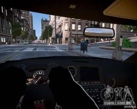 Nissan Spec GT-R Enforcer para GTA 4 vista de volta