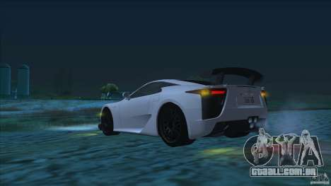 Improved Vehicle Features v2.0.2 (IVF) para GTA San Andreas segunda tela