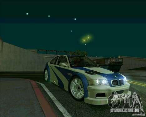 BMW M3 GTR Final para GTA San Andreas