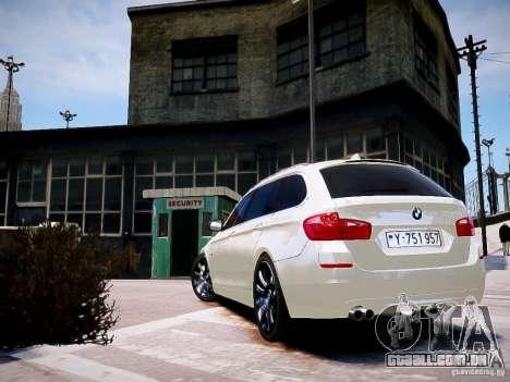 BMW 525i Touring para GTA 4 esquerda vista