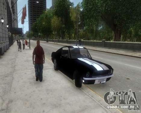 Ford Mustang Tokyo Drift para GTA 4 esquerda vista