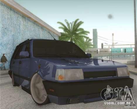 Tofas Kartal SLX para GTA San Andreas vista interior