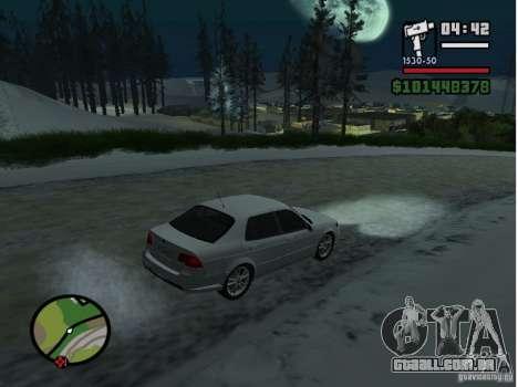 Winter Mod para GTA San Andreas terceira tela