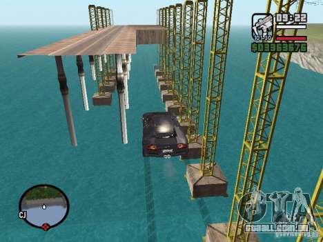 Viagens sobre o oceano (versão Beta) para GTA San Andreas