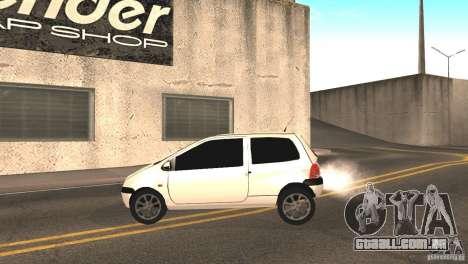 Renault Twingo para GTA San Andreas esquerda vista