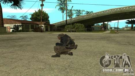 Captain Price para GTA San Andreas segunda tela