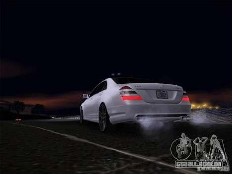 Mercedes-Benz S65 AMG V2.0 para GTA San Andreas vista direita