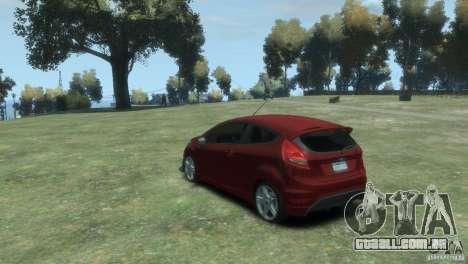 Ford Fiesta para GTA 4 esquerda vista