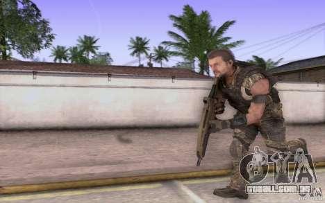 HK XM8 eotech para GTA San Andreas por diante tela