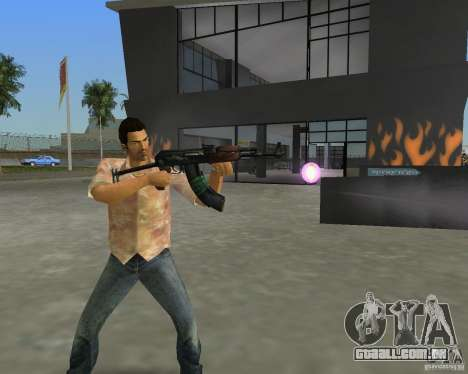 AKS-74 para GTA Vice City