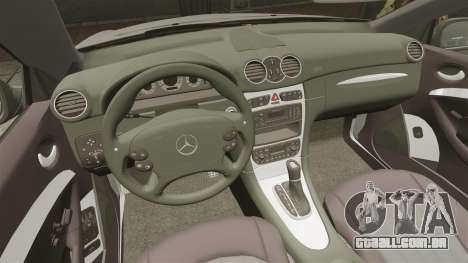Mercedes-Benz CLK 55 AMG Stock para GTA 4 vista superior