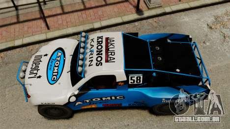 Toyota Tundra Karin Sahara v3.0 para GTA 4 vista direita
