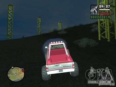 Monster tracks v1.0 para GTA San Andreas segunda tela
