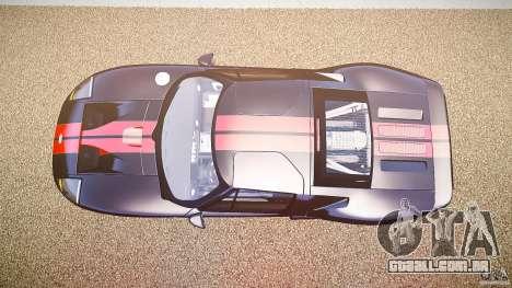 Ford GT1000 2006 Hennessey [EPM] STREET BURNING para GTA 4 vista direita