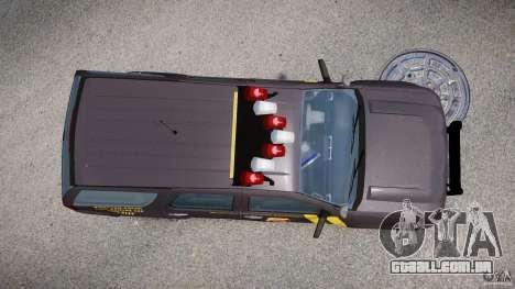 Chevrolet Tahoe Indonesia Police para GTA 4 vista direita