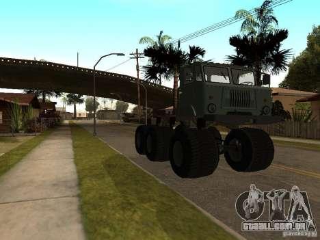 GAZ 66 Saiga para GTA San Andreas esquerda vista