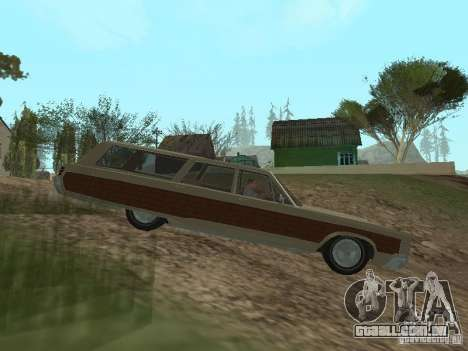 Chrysler Town and Country 1967 para GTA San Andreas esquerda vista