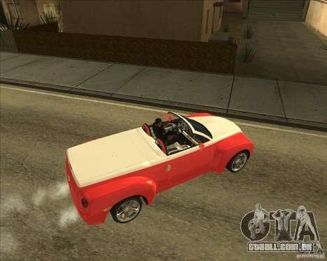 Chevrolet SSR para GTA San Andreas vista direita