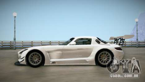 Mercedes-Benz SLS AMG GT3 para GTA San Andreas traseira esquerda vista