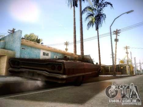 SA DirectX 1.1 Beta para GTA San Andreas