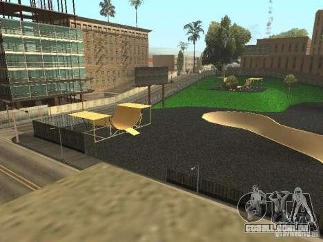 O novo velopark em LS para GTA San Andreas terceira tela