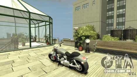 Harley Davidson V-Rod (ver. 0.1 beta) HQ para GTA 4 traseira esquerda vista