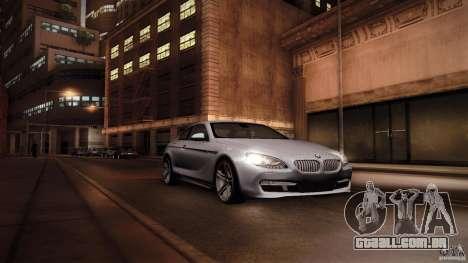 BMW 640i Coupe para GTA San Andreas vista direita