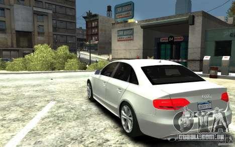Audi S4 2010 v.1.0 para GTA 4 traseira esquerda vista