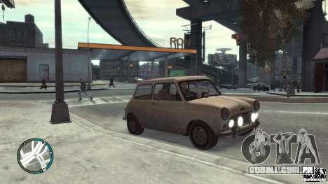 Mini Cooper S para GTA 4 vista direita