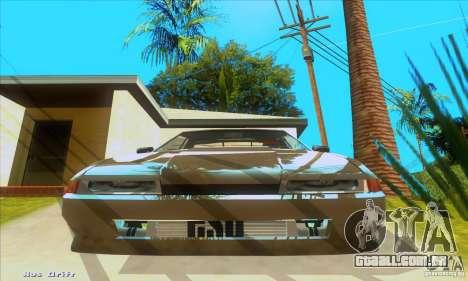 Elegy for the clan GSD para GTA San Andreas esquerda vista