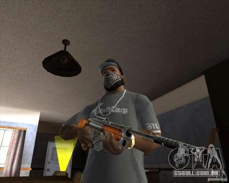 RAPTOR Sniper Rifle from Serious Sam para GTA San Andreas segunda tela
