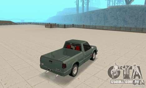 Chevrolet SS10 1994-1995 para GTA San Andreas esquerda vista